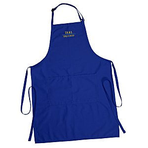 Butcher Apron with Two Patch Pockets