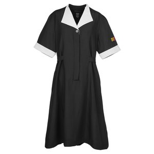 Black Spun Polyester Housekeeping Dress Main Image