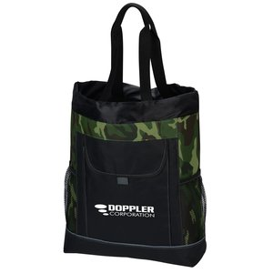 Transitions Backpack Tote - Camo Main Image