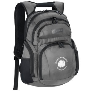 Zebra Computer Backpack Main Image