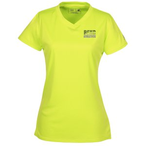 New Balance NDurance Athletic V-Neck Tee - Ladies' - Emb