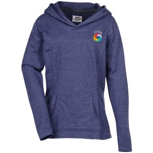 Anvil French Terry Crossneck Hoodie - Ladies' Main Image