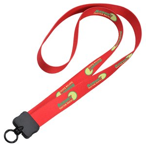 "Dye-Sublimated Stretchy Lanyard - 3/4"" - 34"" - 24 hr Main Image"