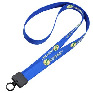 "Dye-Sublimated Stretchy Lanyard - 3/4"" - 36"" - 24 hr Main Image"