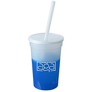 Mood Stadium Cup with Straw - 17 oz.