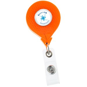 Reflective Retractable Badge Holder Main Image