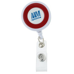 Color Edge Retractable Badge Holder Main Image