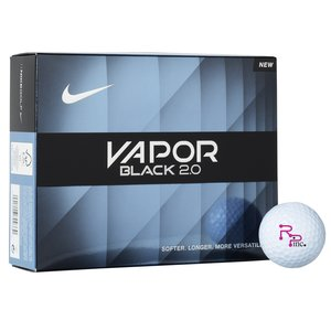 Nike Vapor Black 2.0 Golf Ball - Dozen - Quick Ship Main Image