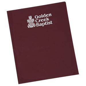 Twin Pocket Presentation Folder - Opaque Main Image