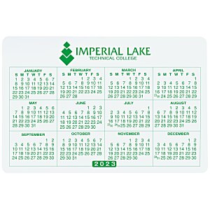 "Removable Laptop Calendar - 2-3/4"" x 4-1/8"" Main Image"