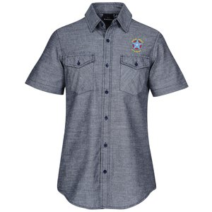 Burnside Chambray Short Sleeve Shirt Main Image