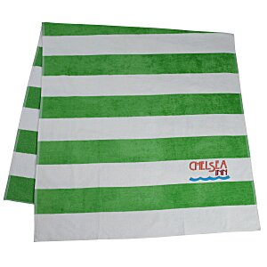 Heavyweight Cabana Stripe Towel Main Image