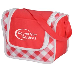Printed Poly Pro Lunch Box - Gingham Main Image