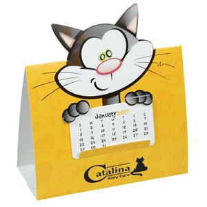 Die-Cut Desk Calendar - Cat Main Image