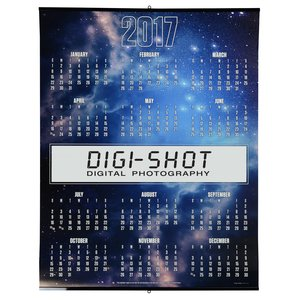 Glow In The Dark Span-A-Year Calendar