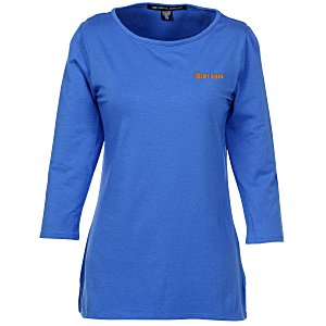 Devon & Jones Perfect Fit 3/4 Sleeve T-Shirt Main Image