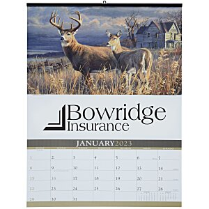 Wildlife Art Large Wall Calendar Main Image