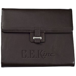 Cutter & Buck Leather Classic Tri-Fold Portfolio Main Image