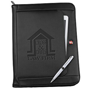 Wenger Executive Leather Portfolio Set Main Image