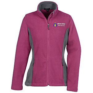 Crossland Colorblock Fleece Jacket - Ladies' Main Image