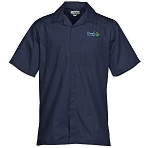 Zip Front Service Shirt - Men's - 24 hr Main Image