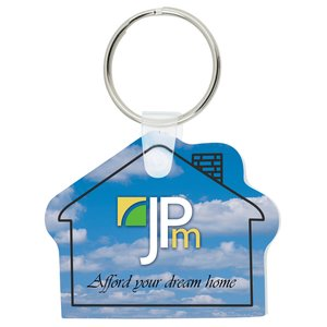 House Soft Key Tag - Full Color Main Image