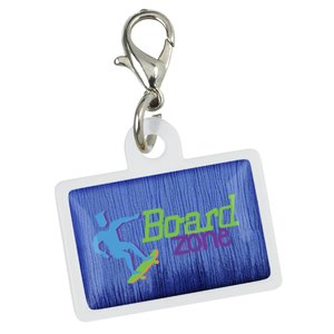 Retractable Badge Holder Charm - Rectangle Main Image