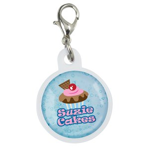 Retractable Badge Holder Charm - Round Main Image