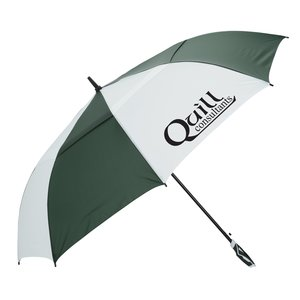 "WindPro Vented Auto Open Golf Umbrella - 62"" Arc - Closeout Main Image"