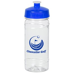 Clear Impact PolySure Cyclone Sport Bottle - 16 oz. - 24 hr Main Image