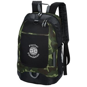 Maverick Laptop Backpack - Camo - 24 hr
