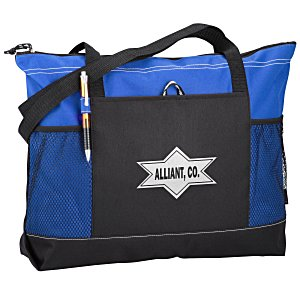 Select Zippered Tote - Screen - 24 hr Main Image
