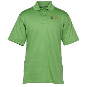 Performance Textured Stripe Polo - Men's Main Image