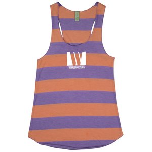 Alternative Stripe Racer Tank - Ladies' Main Image