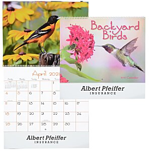 Backyard Birds Appointment Calendar - Spiral Main Image