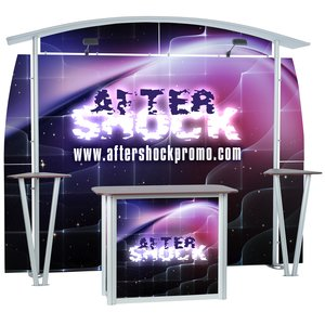 Linear 10' Curved Floor Display Kit Main Image