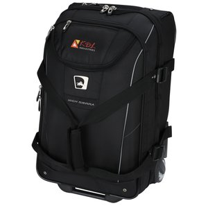 High Sierra Elite Carry-On Wheeled Duffel - Embroidered Main Image