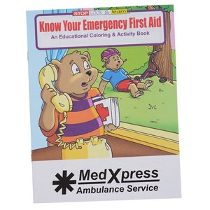 Know Your Emergency First Aid Coloring Book Main Image