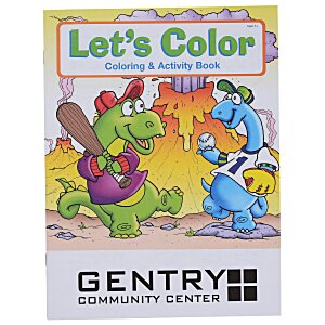 Let's Color Coloring Book Main Image