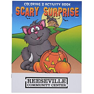 Scary Surprise Coloring Book Main Image