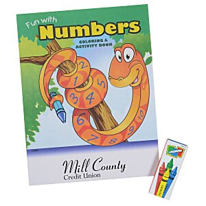 Color & Learn Fun Pack - Numbers Main Image