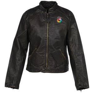 Burk's Bay Retro Leather Jacket - Ladies' Main Image