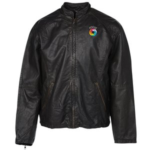 Burk's Bay Retro Leather Jacket - Men's Main Image