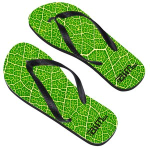 Adult Flip Flops - Large - Full Color Main Image