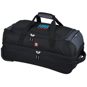 "Wenger 22"" Drop Bottom Duffel - Embroidered Main Image"