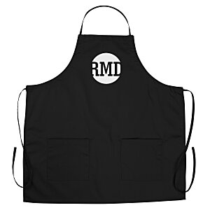 BBQ Apron with Pockets - Color - 24 hr Main Image