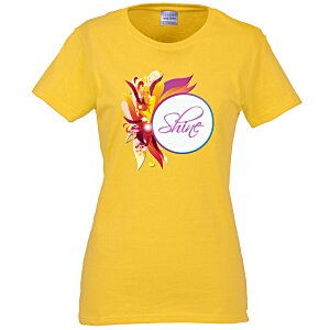 Gildan 5.3 oz. Cotton T-Shirt - Ladies' - Full Color - Color Main Image