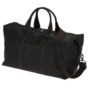 Kenneth Cole Colombian Leather Weekender Duffel - 24 hr Main Image