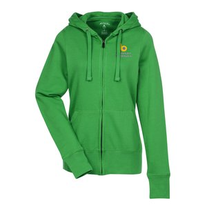Antigua Signature Full Zip Hoodie - Ladies' Main Image