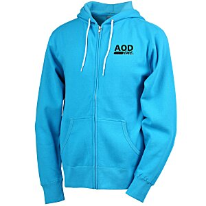 Unisex Full-Zip Hooded Sweatshirt - Screen Main Image